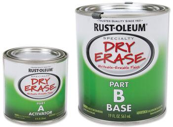 Rust-Oleum Dry Erase Paint Kit 27oz