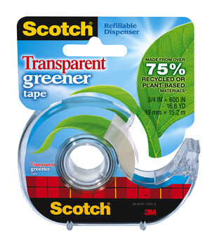 Scotch Transparent Greener Tape