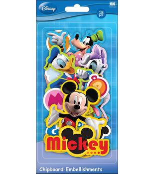 EK Success Disney Chipboard Embellishments-Mickey Friends
