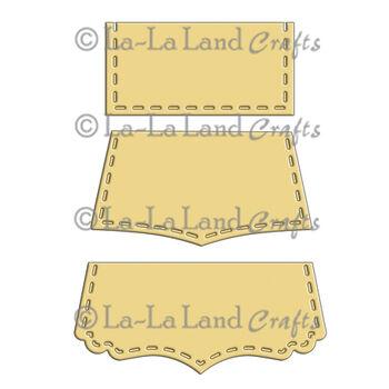 La-La Land Crafts Die Stitched Tabs