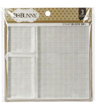 BoBunny Acrylic Stamp Blocks