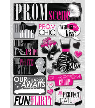 Karen Foster Prom Stickers-The Prom