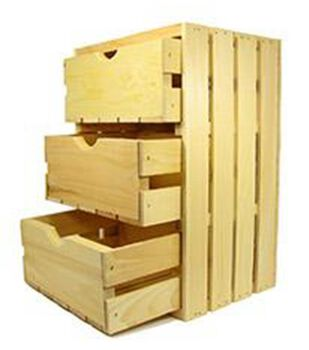 3 Drawer Crate