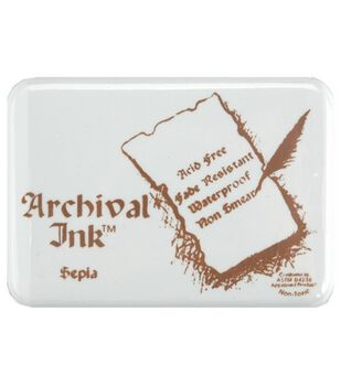 Ink Stamp Pad 3 Jumbo-5''x6-1/2'' Black