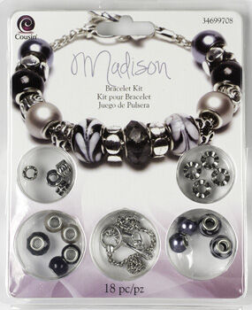 Cousin Large Hole Bead Kit Madison Bracelet Kit