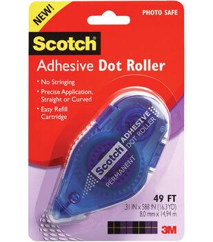 Scotch .31''x49' Adhesive Dot Roller