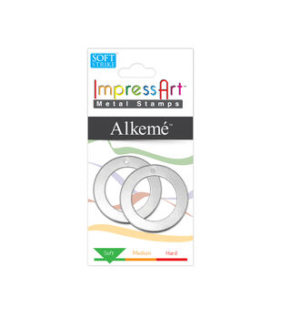 "Stamping Blank Washer with Hole 1.25"" 2/Pkg-Alkeme"