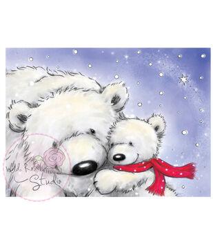 Wild Rose Studio Clear Stamp Set Polar Bears