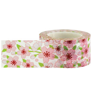Little B Decorative paper Tape 25mmx15m-Cherry Blossom