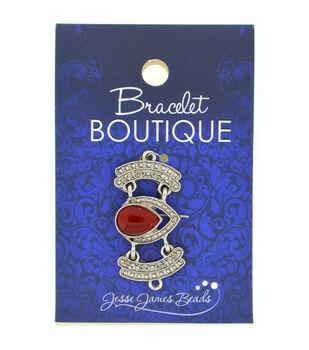 Bracelet Boutique Focal Bead Antique Silver Heart