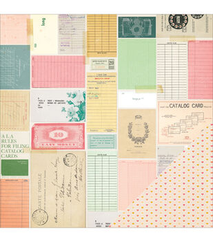 """Maggie Holmes Open Book Double-Sided Cardstock 12""""X12""""-"""