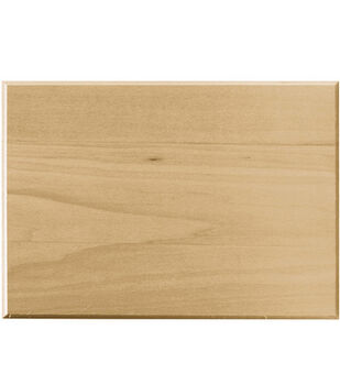 Walnut Hollow Basswood Plaque Rectangle