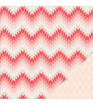 """Kiss Kiss Double-Sided Cardstock 12""""X12""""-Valentine"""
