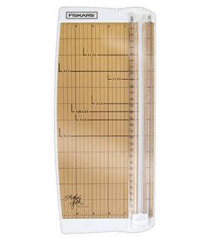 "Fiskars® Teresa Collins Studio Gold Portable Trimmer (12"")"