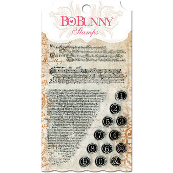 Bo Bunny Essentials Stamps It Is Written