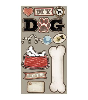 Hound Dog Laser Die-Cuts-My Dog