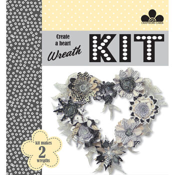 Craftwork Cards Create A Wreath Kit Mr & Mrs