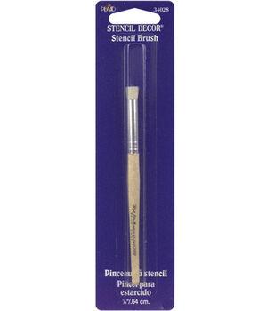 Plaid 1/4'' Natural Stencil Brush