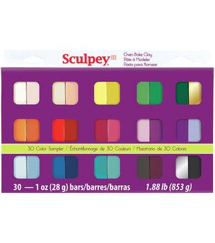 Sculpey III Sampler