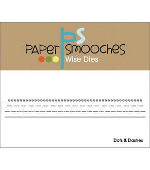 Paper Smooches Die-Dots & Dashes