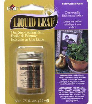 Plaid Liquid Leaf 3/4 oz-Classic