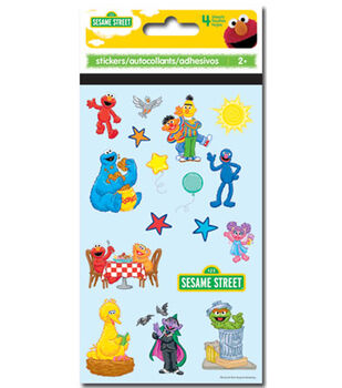 Sesame Street Gang Sticker