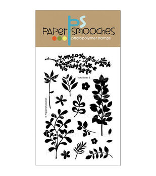 Paper Smooches Clear stamps Botanicals 2