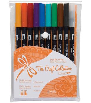 Tombow Dual Brush Pen Set – 10PK, Jewel