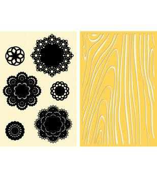 Jillibean Soup Doilies Stamp/Stencil Set