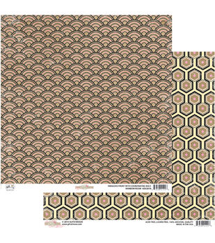 """Geometric - All Dolled Up Double-sided Heavy Weight Paper 12""""x12"""""""