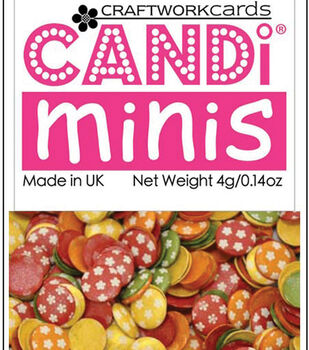 Candi Dot Printed Embellishments .14oz-Toy Box