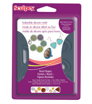 Sculpey Silicone Bakeable Mold-Bezel