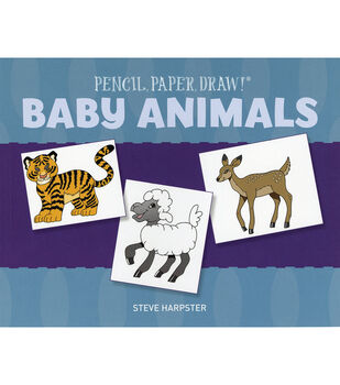 Pencil, Paper, Draw! Baby Animals