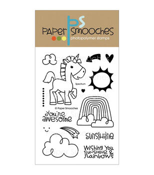 Paper Smooches Clear stamps Spectrum