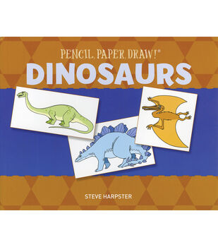 Pencil, Paper, Draw! Dinosaurs