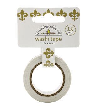 Doodlebug Fleur De Lis - Washi Tape 15mm x 12yd
