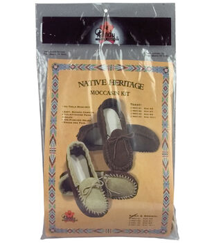Tandy Leather Factory Native Heritage Moccasin Kits-Toast Adult 10-11