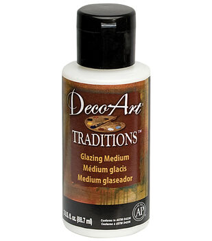 Deco Art Traditions Glazing Medium 3 Ounces