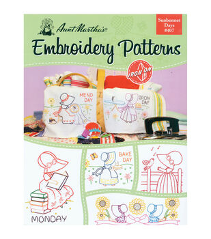 Colonial Patterns Iron-On Transfer Books Sunbonnet Days