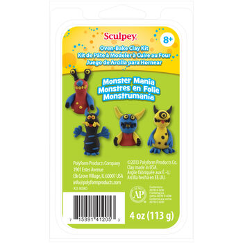 Sculpey Clay Kit Monster Mania
