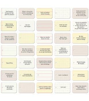 Jillibean Soup Soup Staples Everyday 3 Sides Die-Cut Notebook Tags
