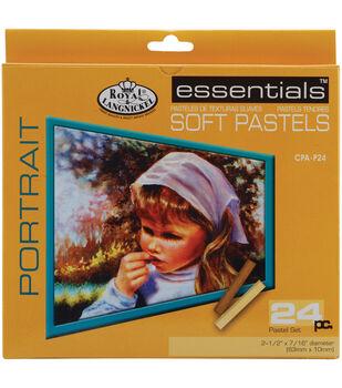 Royal Brush-Soft Pastels-Portrait 24PKg
