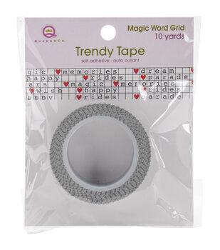 Queen & Co Word Grid Trendy Tape