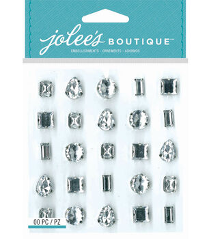 Jolee's Boutique - Clear Set Gems