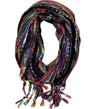 Laliberi™ Black Stripe Scarf