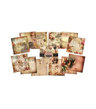 IndigoBlu Emporium Of Curiosities Paper Stack Cardstock 6''x6''