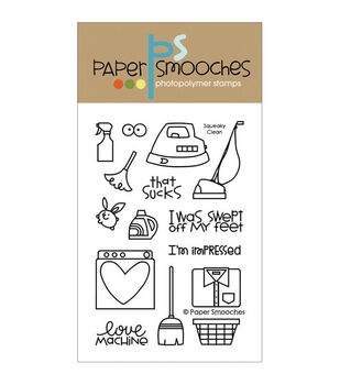 Paper Smooches Clear stamps Squeaky Clean