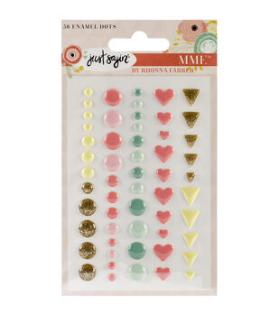 Just Sayin' Enamel Dots 56/Pkg-