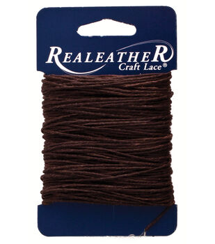 Silver Creek Leather Co. Waxed Thread 25 yards-Brown