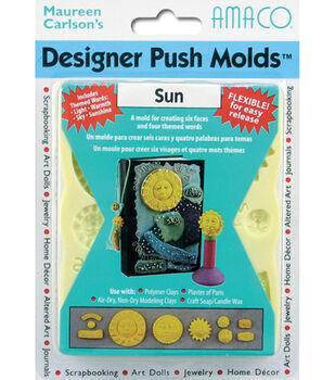 Polymer Clay Designer Flex Push Mold